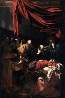 Death of the Virgin by Caravaggio, high resolution