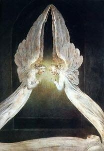 Christ in the Sepulcher Guarded by Angels, William Blake