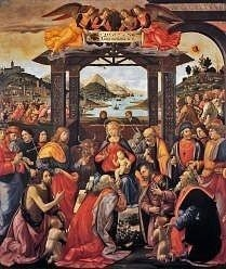 Adoration of the Magi by Domenico Ghirlandaio, Wise Men images