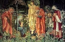 Adoration of the Kings by Sir Edward Burne Jones