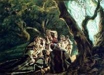Angels and the Shepherds by James Tissot, high resolution