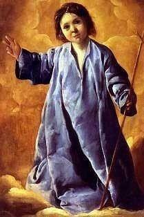The Christ Child by Francisco de Zurbaran