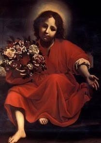 Christ Child by Carlo Dolci Royalty Free Images