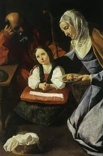 Holy Family by Francisco de Zurbaran, high resolution