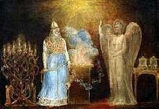 Zacharias And The Angel by William Blake