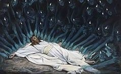 Angels Ministered Unto Him by James Tissot