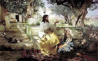 Christ with Mary and Martha, Henryk Semiradsky