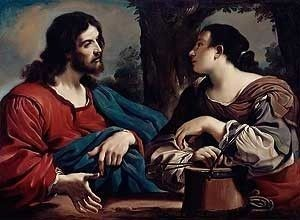 Christ and the Woman of Samaria by Giovanni Guercino