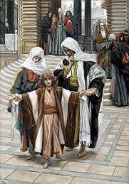 Jesus Found in the Temple, James Tissot Royalty Free Images
