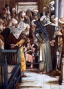 Jesus Sitting in the Midst of the Doctors, James Tissot