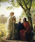 The Samaritan woman at the well high resolution images