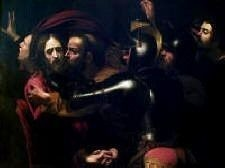 Kiss of Judas Caravaggio high resolution