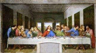 The Last Supper by Leonardo Da Vinci Royalty Free Images