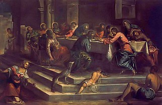 The Last Supper by Tintoretto