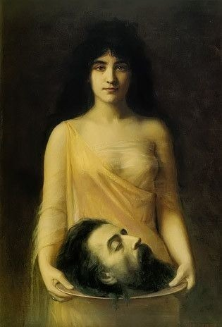 Salome with the head of John the Baptist, Jean Benner