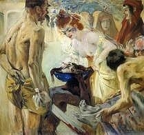 Salome by Lovis Corinth, royalty free images
