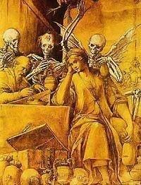 Allegory Of Avarice by Jacopo Ligozzi