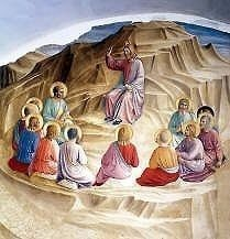 Sermon on the Mount by Fra Angelico High Resolution