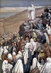 Sermon of the Beatitudes, James Tissot