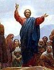 Sermon on the Mount High Resolution Bible Art