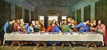 The Last Supper Restored, Leonardo Da Vinci High Resolution