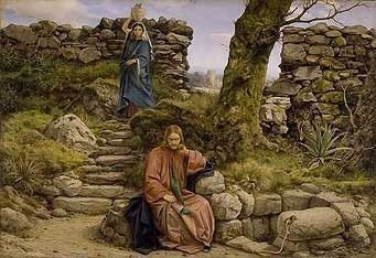 The Woman of Samaria by William Dyce