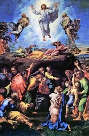 Transfiguration by Raphael high resolution