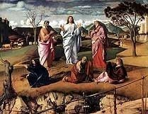 Transfiguration by Giovanni Bellini, high resolution