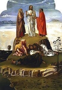 Transfiguration of Christ by Giovanni Bellini