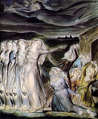 The Wise and Foolish Virgins, William Blake