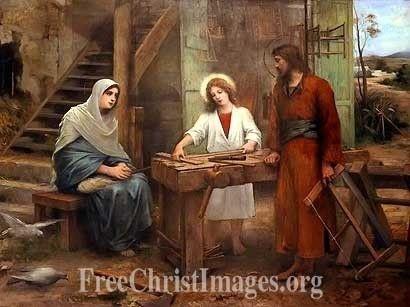 Jesus in the Carpenters Shop