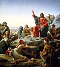 Sermon on the Mount by Carl Bloch, high resolution