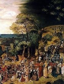 The Calvary of Christ by Pieter Brueghel the Younger