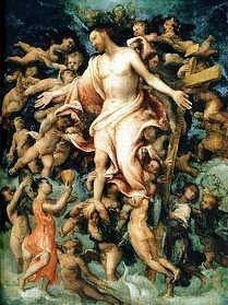 Christ In Glory by Lorenzo Lotto, 1543
