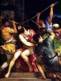 The Crowning With Thorns by Titian, high resolution