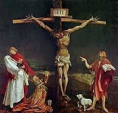 The Crucifixion by Matthias Grunewald, high resolution
