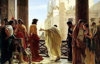 Ecce Homo by Antonio Ciseri, Behold the Man