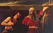 The Remorse of Judas by Edward Armitage, royalty free image