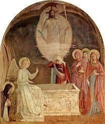 Fra Angelico Resurrection of Christ and the Women at the Tomb