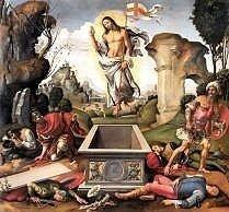 Resurrection by Raffaelino del Garbo