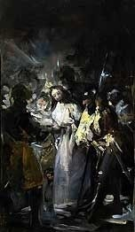 Taking of Christ by Francisco de Goya