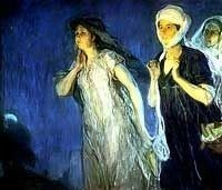 Henry Ossawa Tanner, Three Marys at the Tomb Resurrection Morning