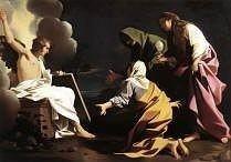 The Three Marys at the Tomb by Bartolomeo Schedoni