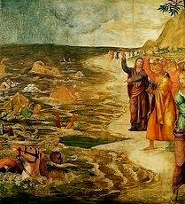 Crossing The Red Sea Bernardino Luini