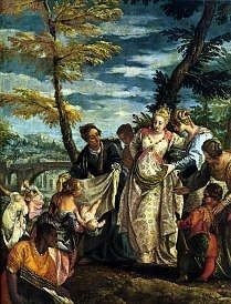 The Finding of Moses, Paolo Veronese 1580 Royalty Free Images