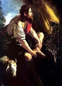Moses Before the Burning Bush by Domenico Fetti