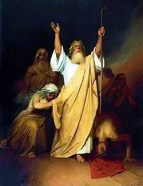 Prayer of Moses Before Israelites Passed Through the Red Sea by Ivan Kramskoi