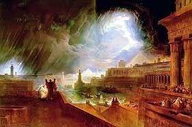 The Seventh Plague of Egypt by John Martin