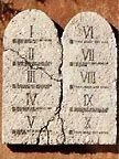 Ten Commandments high resolution images