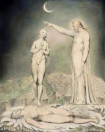 Creation of Eve by William Blake Free Images